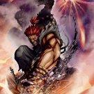 Street Fighter Akuma 32'' Poster
