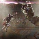 "Thor Hulk Fight 44"" Poster"