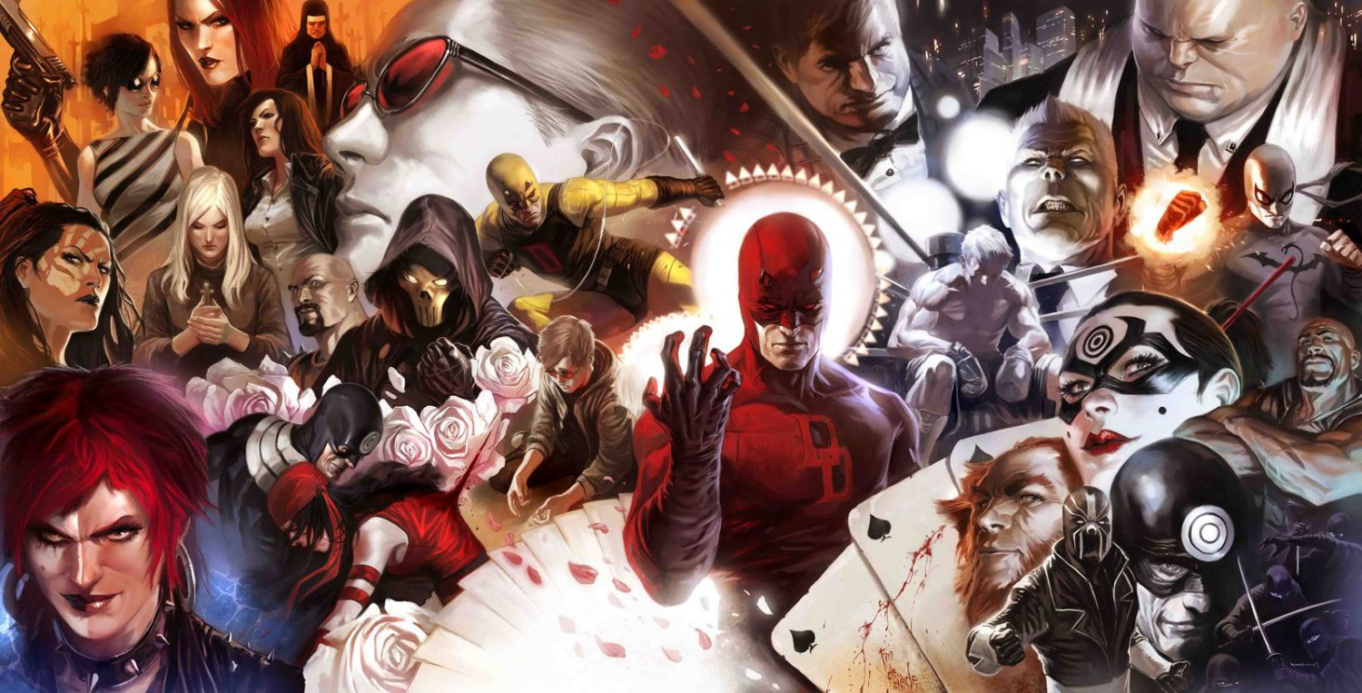 """Daredevil The Man without Fear from W3 46"""" Poster"""