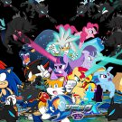 "Sonic And My Little Pony 51"" Poster"