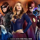 "Arrow Supergirl Flash Legends Of Tomorrow 37"" Poster"