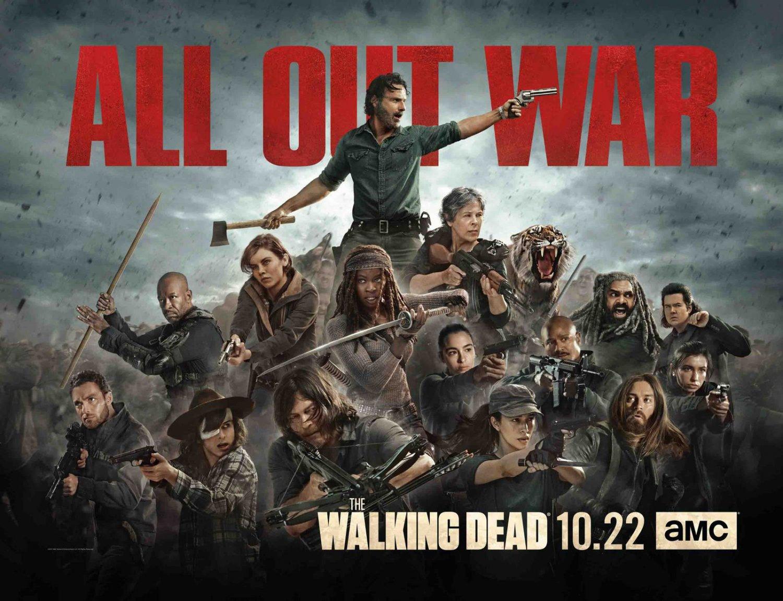 """The Walking Dead Season 8 Premiere 30"""" Poster"""