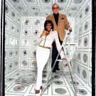 "Whitney Houston with Clive Davis 30"" Poster"