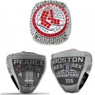 Perfect 2018 Boston Red Sox Championship Ring PEARCE World Series Champions