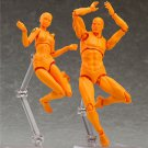 15th Anniversary 5'' Fresh Orange Ver. PVC Action Figure Figma SHE No Box Action