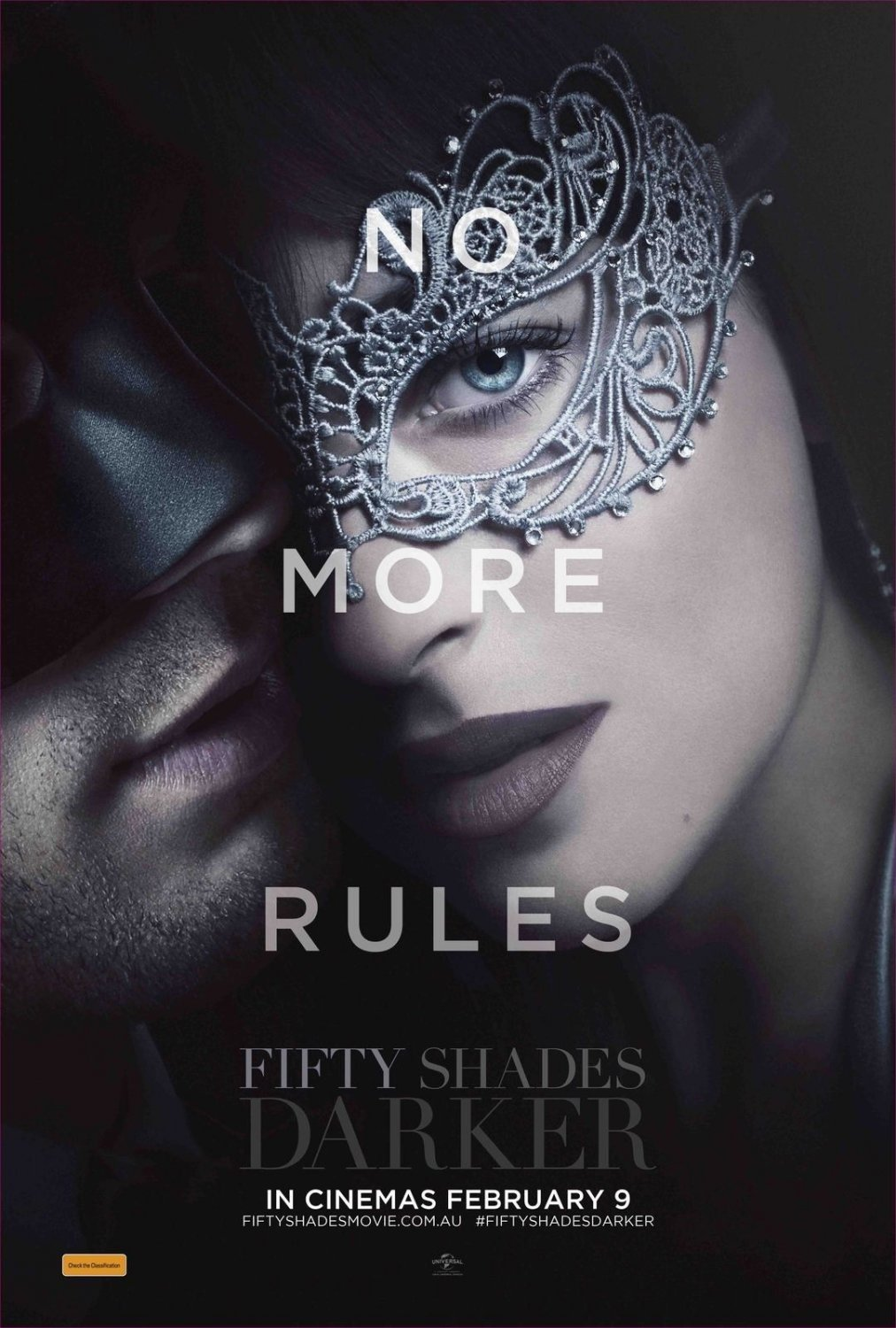 """Fifty Shades Darker 35"""" Poster35� Poster"""