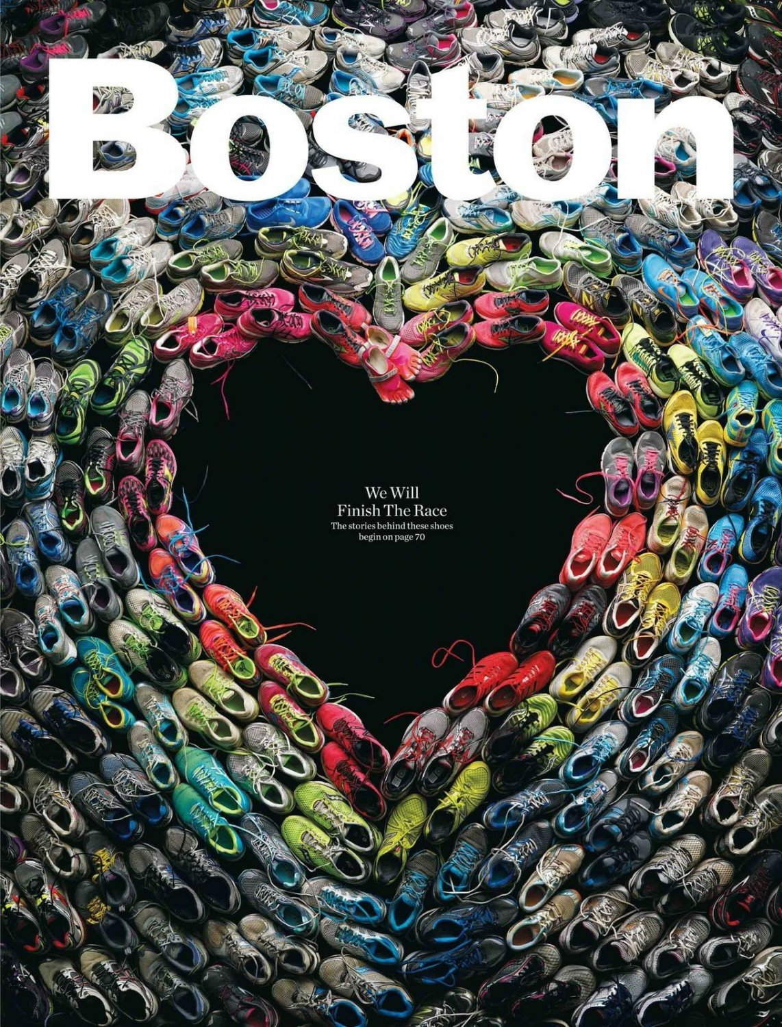 """Boston we will finish the race 31"""" Poster"""