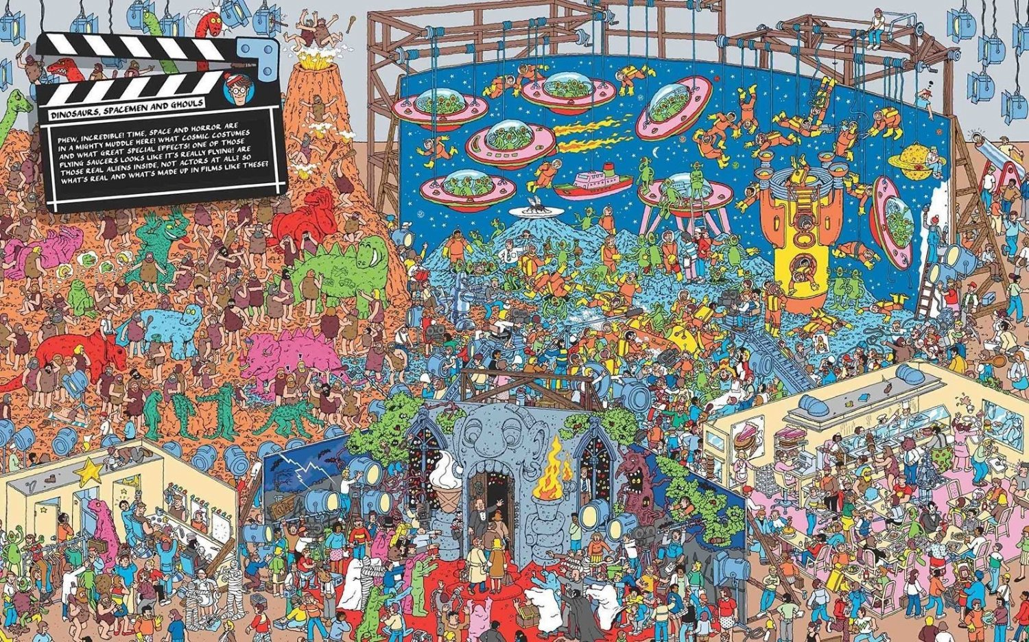 Where's Wally The Magnificent Mini 37� Poster