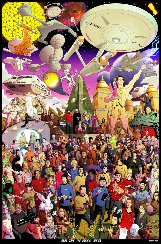 """Star Trek The Original Series 35"""" Poster"""