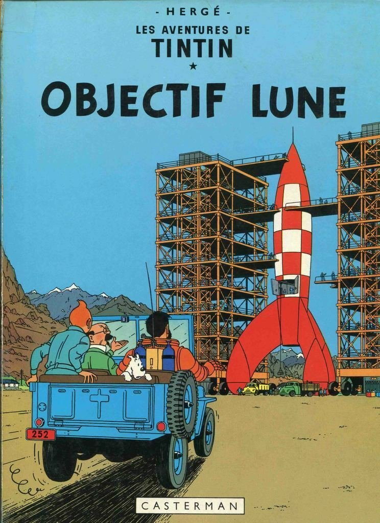 OBJECTIF LUNE TITAN 32� OLD POSTER