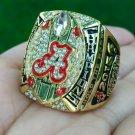 2015-2016 Alabama Crimson Tide Championship Ring Saban College National Champion
