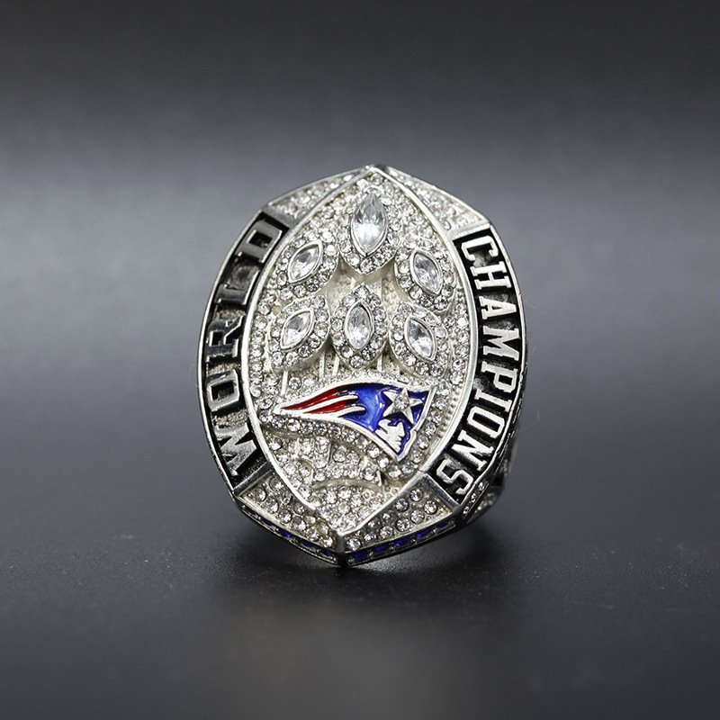 Official New England Patriots World Championship Ring 2018 2019 Super Bowl