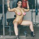 "Angela White  Gym Workout Sexy 33"" Poster"