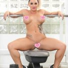 "Cali Carter Busty Muscular Babe 35"" Poster"
