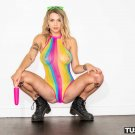 "Gabbie Carter Tushy Rainbow Girl Sex 35"" Poster"