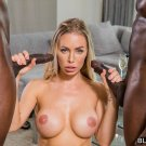 "Nicole Aniston Blacked 35"" Poster"