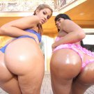 """Isis Taylor and Eve Madison 35"""" Poster"""