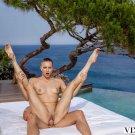 "Mia Split - Flexible 35"" Poster"