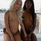 "Ana Foxxx and Elsa Jean 35"" Poster"