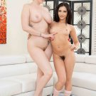 "Sexy Lauren Phillips & Jane Wilde tag team a lucky dude 35"" Poster"