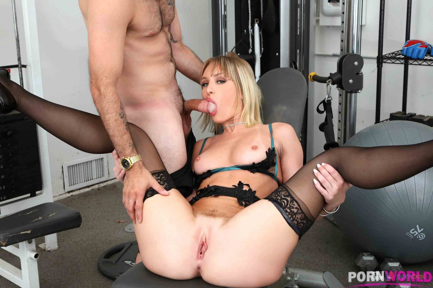 """Private Gym Session Sex Girl 35"""" Poster"""