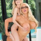 """Busty Boss Nicolette Shea Shows Piper Perri Whos Boss 35"""" Poster"""