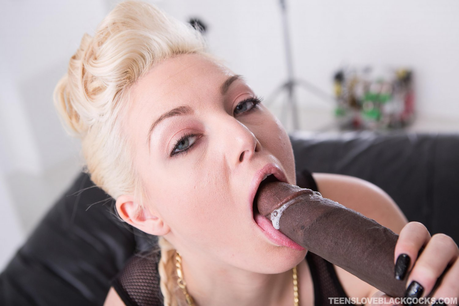 "Jenna Ivory Interracial Enhanced Resolution 35"" Poster"