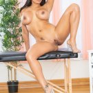 "Busty beauty Luna Star gets boned at the spa Hot 35"" Poster"