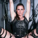 """Sofie horny milf in leather corset gets fucked in the ass 35"""" Poster"""