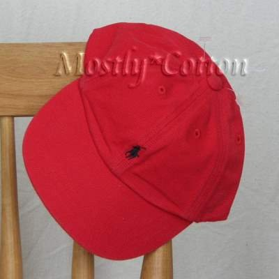 NwT Polo Ralph Lauren INFANT Boys BASEBALL Hat Cap RED New with Tags