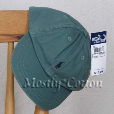 NwT Polo Ralph Lauren INFANT Boys BASEBALL Hat Cap GREEN New with Tags