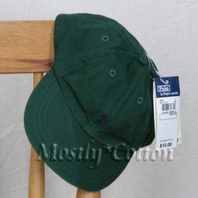 Polo Ralph Lauren INFANT Boys Baseball Cap Hat GREEN New