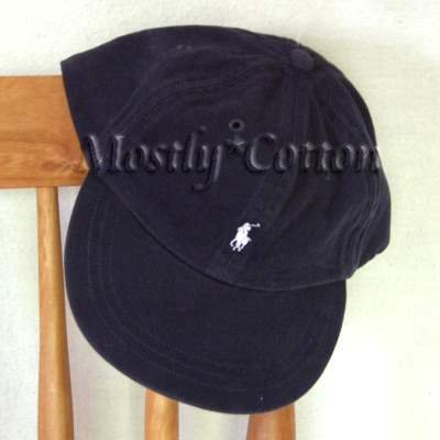Polo Ralph Lauren TODDLER Boys Baseball Cap Hat NAVY BLUE New
