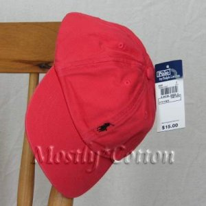Polo Ralph Lauren TODDLER Boys Baseball Cap Hat RED New