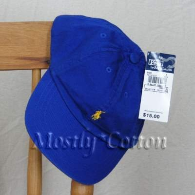 Polo Ralph Lauren TODDLER Boys Baseball Cap Hat ROYAL BLUE NwT New with Tags