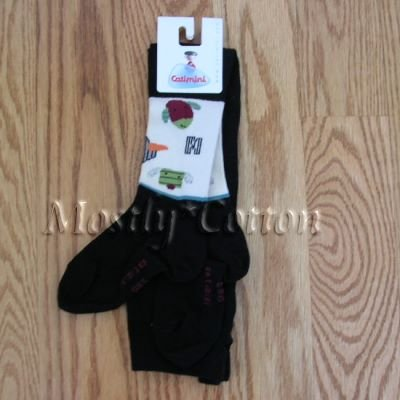CATIMINI girls PARADE AU CLAIR DE LUNE TIGHTS 23/24 NwT NEW