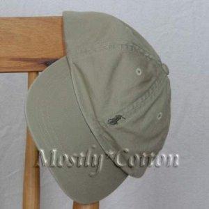 Polo Ralph Lauren BOYS Baseball Cap Hat OLIVE KHAKI 4 5 6 7 MEDIUM New