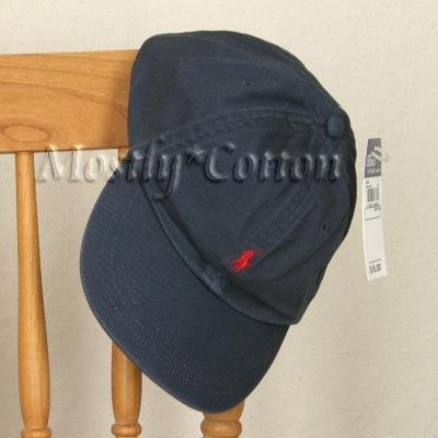 Polo Ralph Lauren BOYS Baseball Cap Hat NAVY BLUE 4 5 6 7 MEDIUM NwT New with Tags