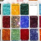 US Shipper 6MM Xilion 5328 Swarovski Crystal Bicone Beads, 6, Mix your Colors