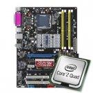 AsusP5N-ESLINVIDIA650iSocket 775ATXMotherboardandntelCore2QuadQ66002.40GHzSocket775