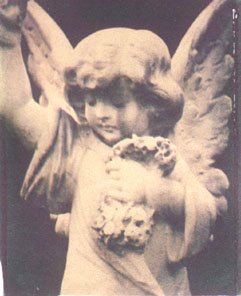 Angel Polaroid Transfer Greeting Cards