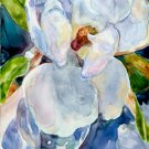 Magnolia 2 painting