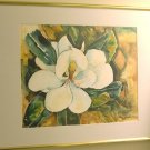 Yupo Magnolia 2-  watercolor on yupo paper