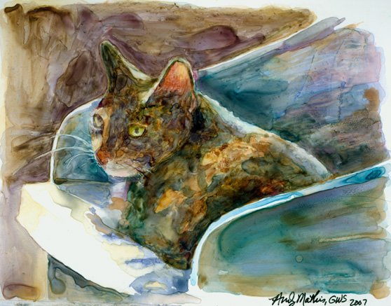 Maybelline- Calico Reproduction Print