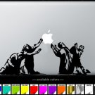 Pray MacBook Air-Pro 11 13 15 17 Vinyl Stickers, Skin, Decal