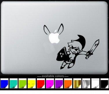 Zelda MacBook Air-Pro 11 13 15 17 Vinyl Stickers, Skin, Decal