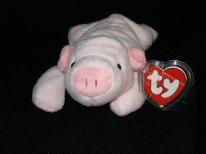 Ty Beanie Babies 3rd Gen Squealer Pig