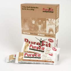Pure Fit Peanut Butter Nutrition Bars (also available in almond crunch and chocolate brownie)