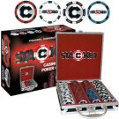 StackedT CLAY-Filled Poker Chip Set - 200 Chips