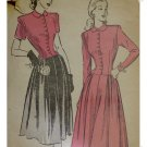 Advance #4666 Sz 16 Misses / Ladies Skirt & Blouse Pattern c. 1945